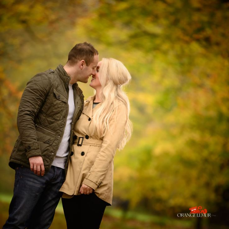 autumnal engagement session at Camperdown Country Park in Dundee, photos by orange lemur studio