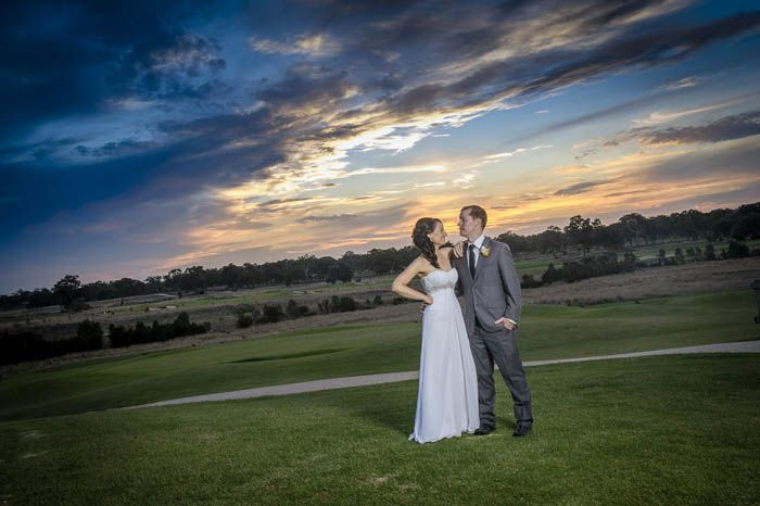 On location at Growling Frog Golf Course. Photographed by Marc Grist Photography #wedding #weddingphotography #location #GrowlingFrogGolfCourse #marcgristphotography