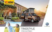 Fahrzeugprospekt REIMO TrioStyle Campingbus auf Basis  des neuen Volkswagen  Transporter - PDF Download