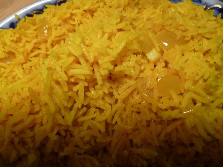 Indiskt ris, indisk mat recept