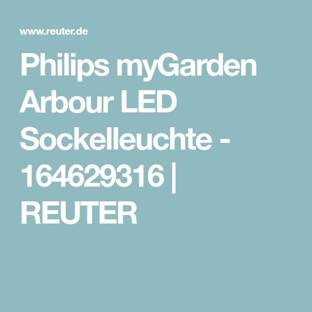 Philips myGarden Arbour LED Sockelleuchte - 164629316 | REUTER