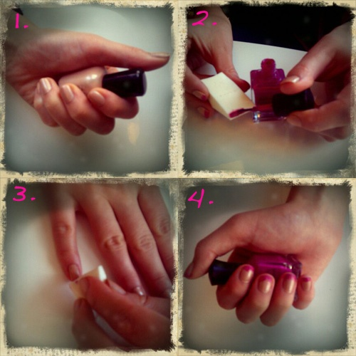 how to dip dye nails