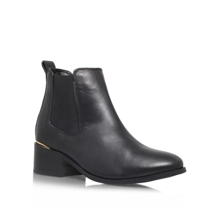 toby black low heel ankle boots from Carvela Kurt Geiger