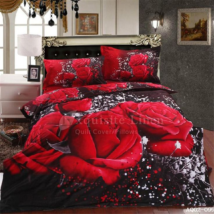 2015 Discount Bedding Sets Beautiful Rose Cotton Bedding Sets Luxury Design New Arrival For Sale Aq02 009 From Wongsbedlinen, $70.16 | Dhgate.Com