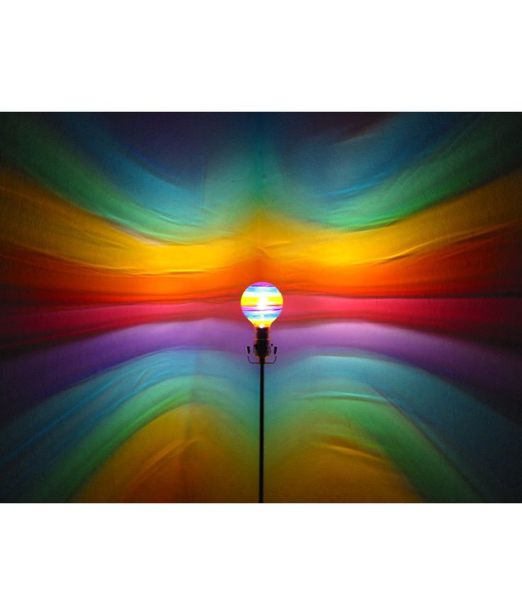 MOOD LIGHT BULBS | Mood Lights, Painted, Rainbow, Clouds, Flame | UncommonGoods