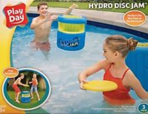 PlayDay Hydro DiscJam Pool Backyard Park Outdoors Flying Disc Game Play Anywhere #PlayDay