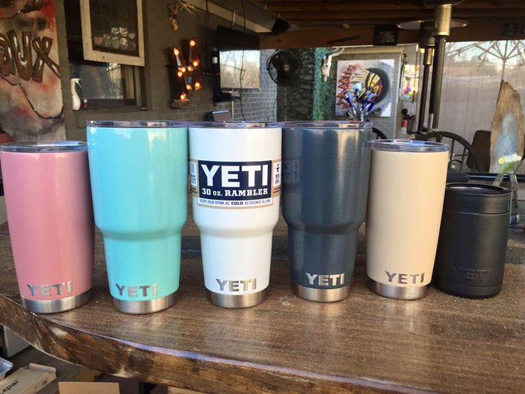 Vine Script Monogrammed Powder Coated Yeti Rambler, Cup, Colster, or Lowball by SmallBatchYetis on Etsy