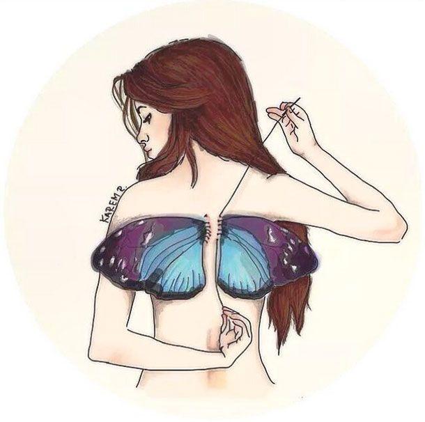 """""""Con+estas+alas+volaré"""".+Así+ha+subido+este+dibujo,+hecho+por+una+fan,+llamada+Karen,+Camila+Cabello.+Está+cumpliendo+todos+sus+sueños.+Foto:+Instagram"""