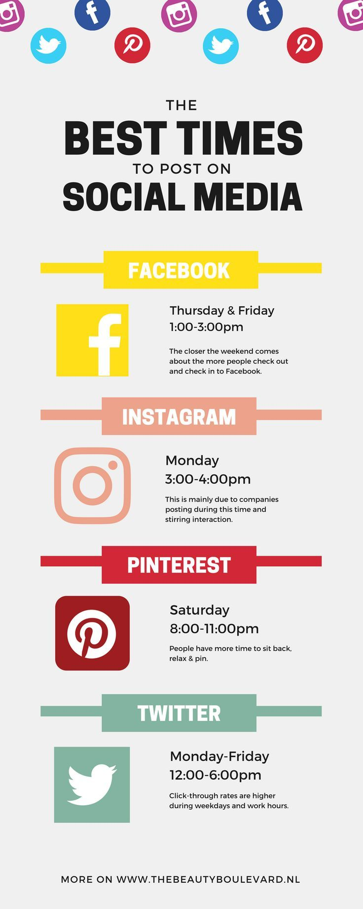 Share on facebook tweet this post pin images to pinterest - Are You Looking For The Best Times To Post On Social Media Then You Are