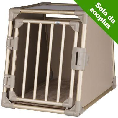 Prezzi e Sconti: #Trasportino in alluminio per cani trixie l:  ad Euro 219.99 in #Trixie #Cani trasportini e articoli