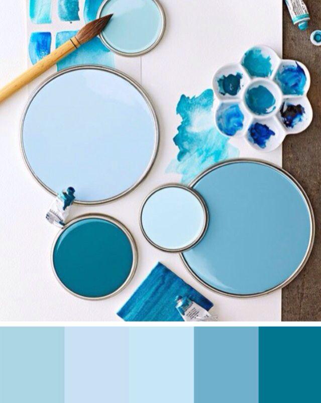Paint circles color palette