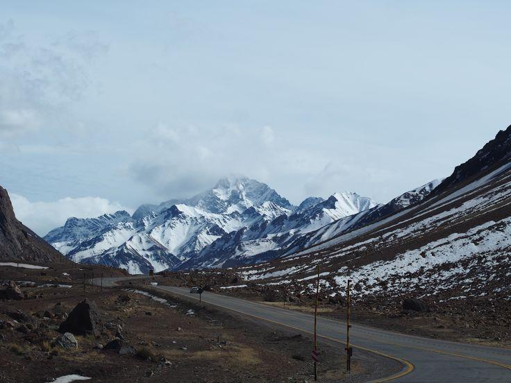 Mendoza - Santiago de Chile. Cruce Los Andes!