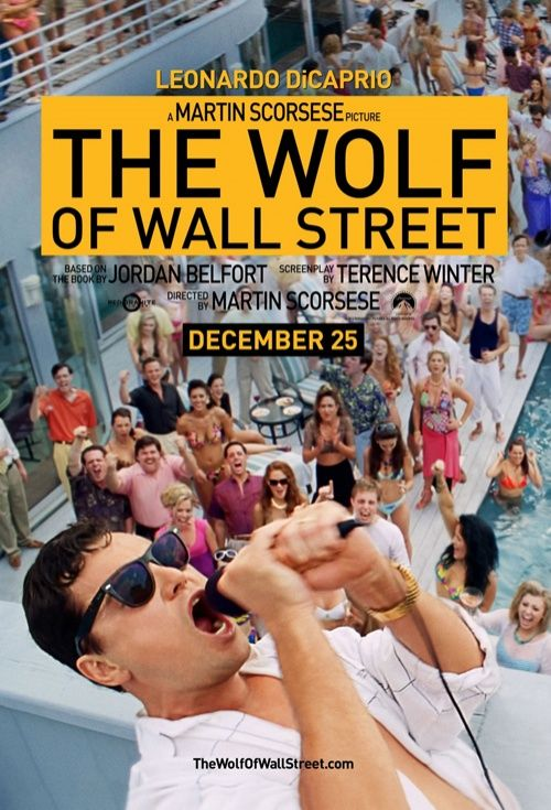 The Wolf of Wall Street, Movie Poster
