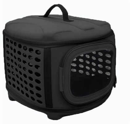 Collapsible Circular Shelled Pet Transporter