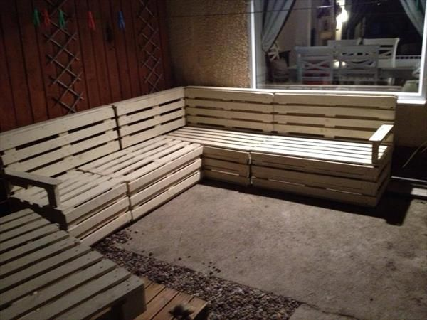 Best 25 Pallet sectional couch ideas on Pinterest