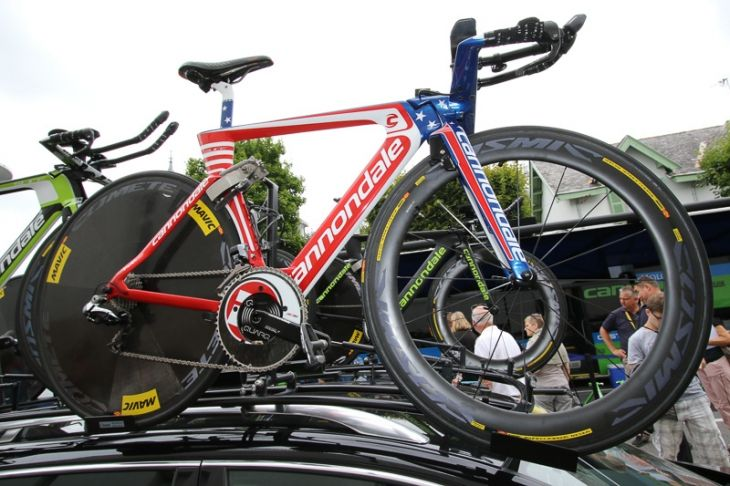 TTのアメリカナショナルチャンピオンであるアンドリュー・タランスキーは星条旗カラーのバイクを駆る: photo:Makoto.AYANO