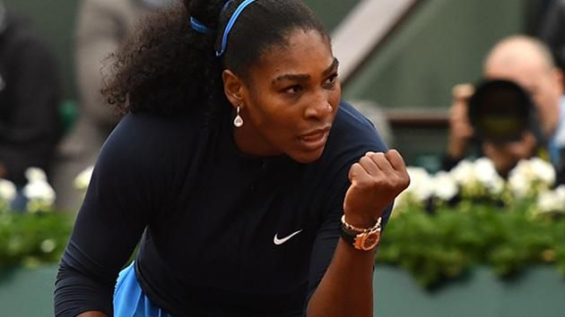 6/3/16 #WhatRainDelay? Rena is tougher than the grueling #RG16 schedule & rough conditions!... Via ESPN Tennis  ·    Serena Williams has reached her 27th career Major final, beating Kiki Bertens 7-6(7) 6-4. Will face Garbiñe Muguruza for French Open title.