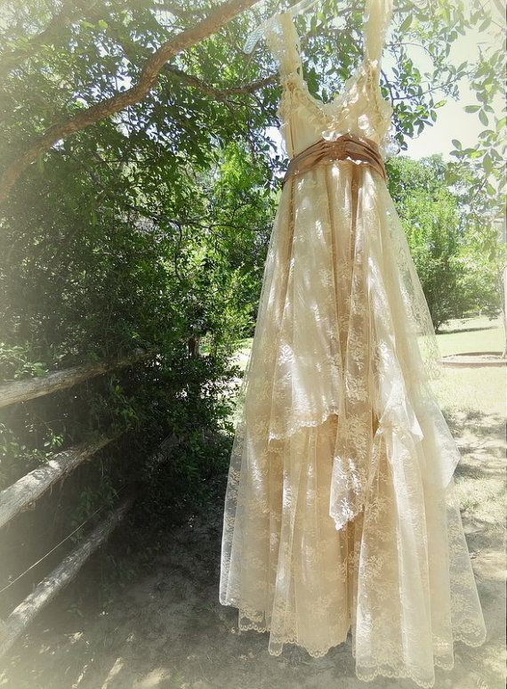17 best images about vintage inspired wedding dresses by for Rustic vintage wedding dresses