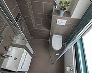 Duschbad mit gefliester Dusche gestalten Bilder Id…