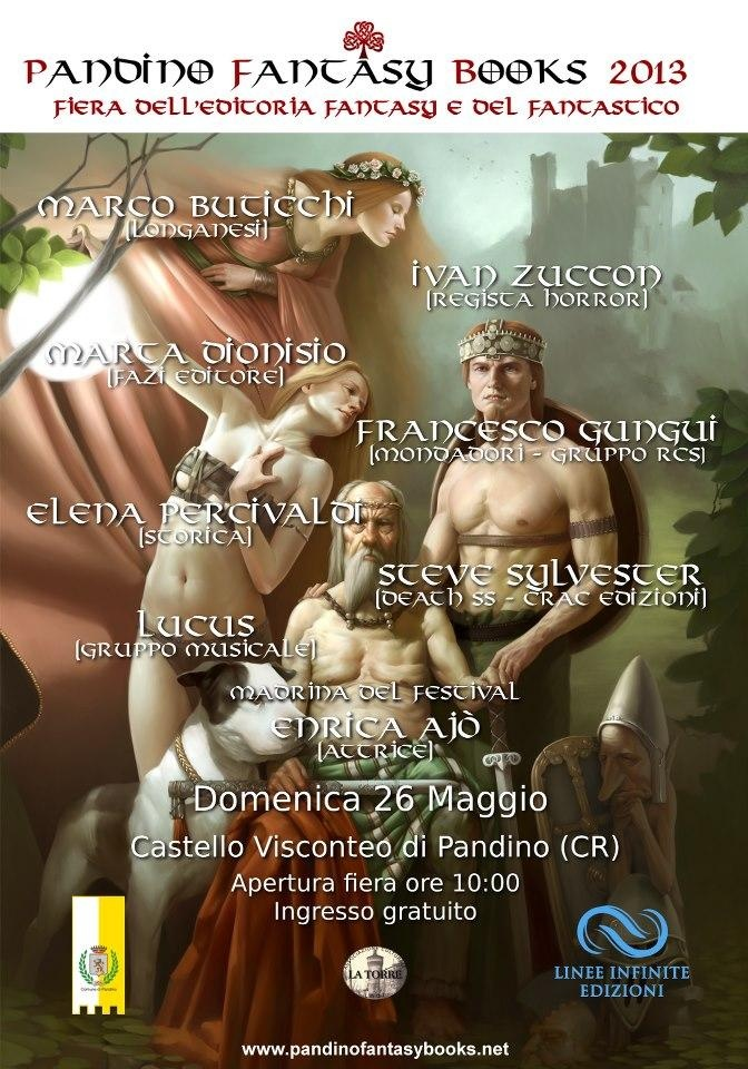 » [Eventi] Pandino Fantasy Books 2013 (26 maggio) - Scrittevolmente
