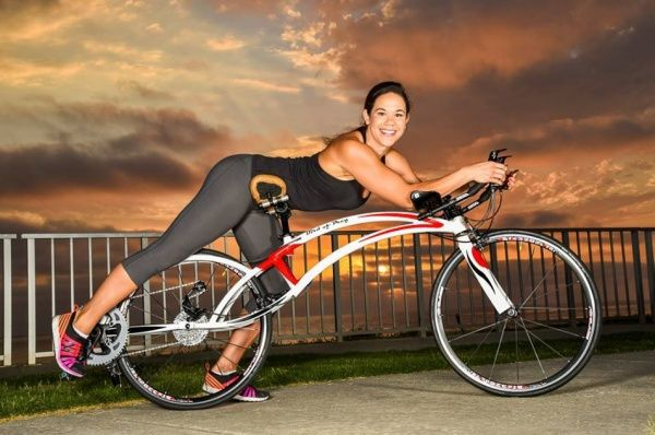 Recumbents have been around for years, but the bird of prey bikeis not a recumbent. The new design integrates a semi-prone position that's been described..