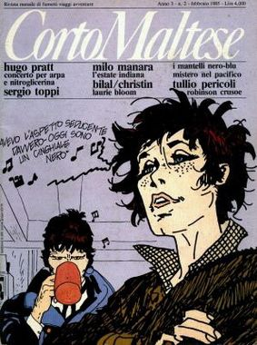 Archives Hugo Pratt - Corto Maltese Magazine italien