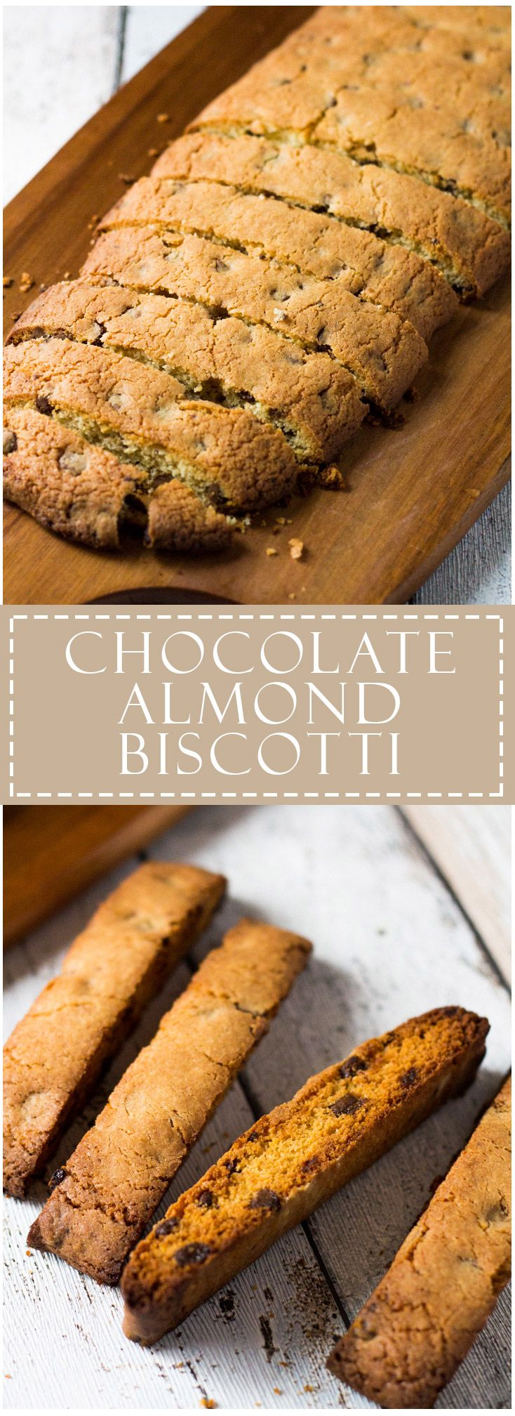 Chocolate Almond Biscotti | Marsha's Baking Addiction