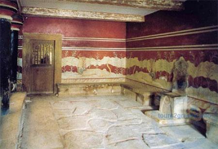 Knossos palace-throne hall!!!