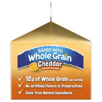 Pepperidge Farm Goldfish Whole Grain Cheddar Baked Snack Crackers 2 oz