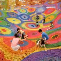 Toshiko e l'arte a misura di bambino