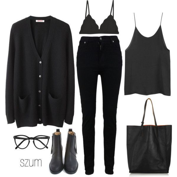 18 black outfits to pop your looks