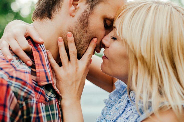 Engagement session, sesja narzeczeńska, sesja zaręczynowa, miłość, pocałunek, kiss, love, boho,
