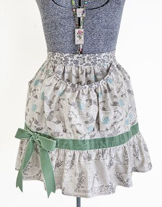 Mary Jane's farm farm girl egg apron Style A