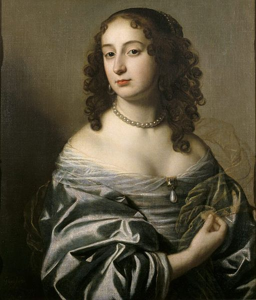 'Sophia of the Palatinate, Electress of Hanover' by an unknown artist. Sophia (1630-1714) was granddaughter of James I and mother of George I,  is best remembered as the link between the Houses of Stuart and Hanover.