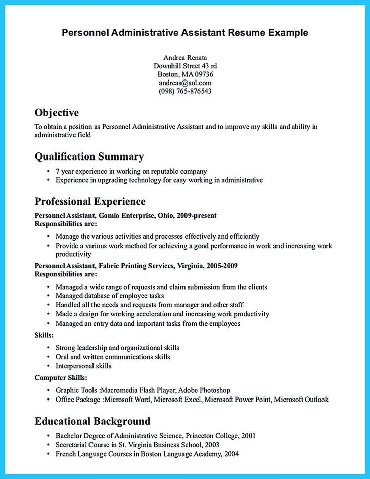 cool Writing Your Assistant Resume Carefully,