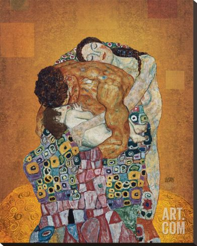 The Family Stretched Canvas Print by Gustav Klimt at eu.art.com