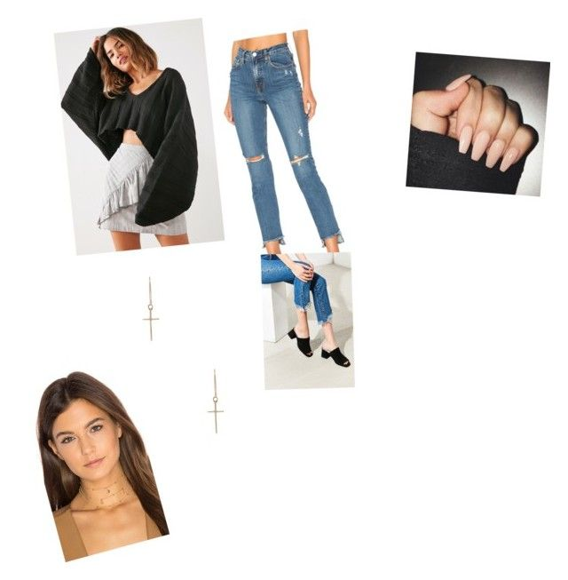 """""""Untitled #4109"""" by oreabe ❤ liked on Polyvore featuring Silence + Noise, Nobody Denim, Jeffrey Campbell, ERTH and Ettika"""