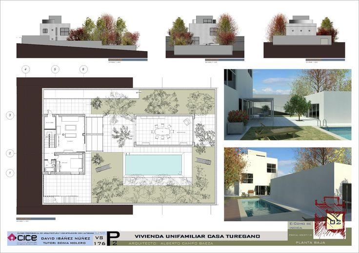 Casa Turegano 01 | Campo Baeza por David Ibañez http://dibandimension.blogspot.com.es/