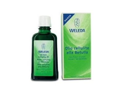 Olio cellulite alla Betulla di Weleda