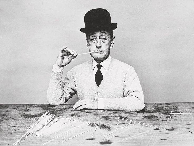 Totò or Antonio Focas Flavio Angelo Ducas Comneno De Curtis di Bisanzio Gagliardi as was his real name; photo by Guy Bourdin, 1955