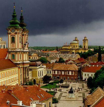Stormy Eger, Hungary via