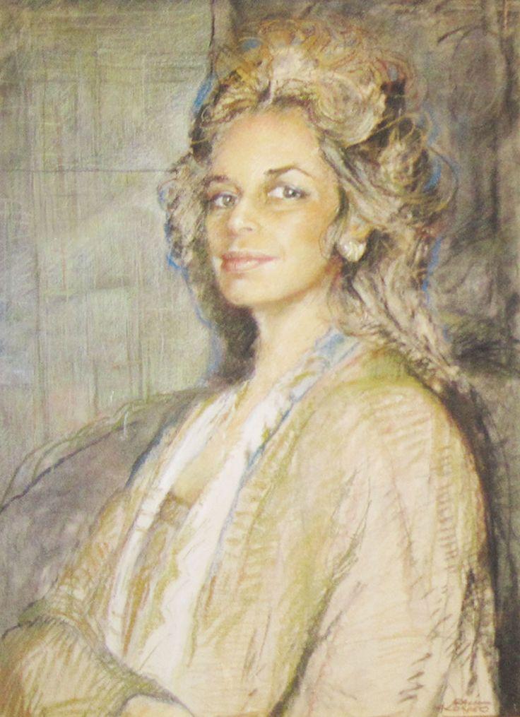 Retrato de María Eugenia : Carlos Alonso