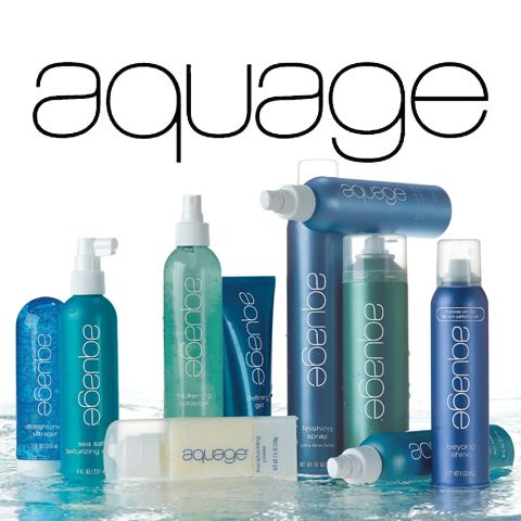 Aquage hair products are formulated with algaeplex sea botanicals. The Algaeplex sea botanicals in the Aquage collection are a carefully