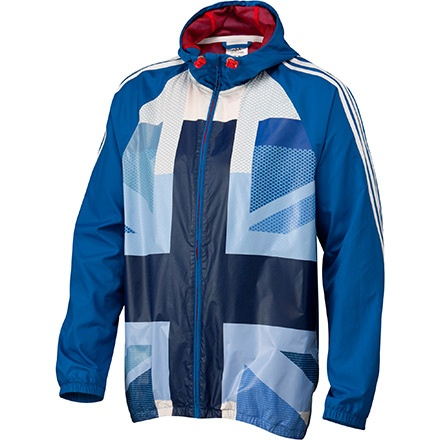 Adidas men's team GB OSP FZ windbreaker