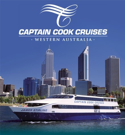 Captain Cook Cruises, Perth Western Australia. We shall be taking this cruise from Perth City to Fremantle. Sure you can take a train, and sure this is more expensive, but its an amazing trip along the Swan River. $70 return trip for 2 adults