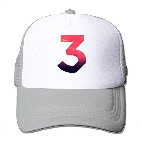 8f0c5b7eab890 Vintage Chance The Rapper Number 3 Coloring Book Adult Nylon Adjustable  Mesh Hat Snapback Hip Hop