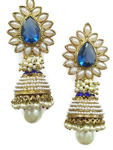 VVS Jewellers Blue Stone Indian Bollywood Designer Gold P... https://www.amazon.com/dp/B071JDQ6XQ/ref=cm_sw_r_pi_dp_x_e77ozb89BCY1S