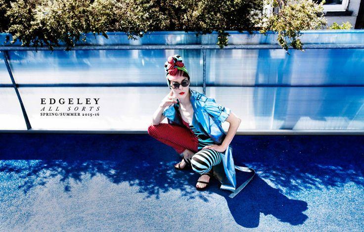 Edgeley Spring/Summer 2015-2016 wearing Sonia Heels by Preston Zly Design
