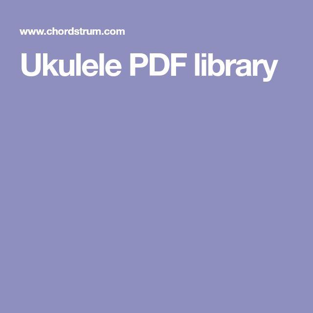Ukulele PDF library
