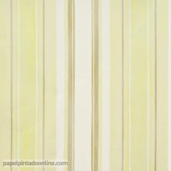 Mejores 10 im genes de papel pintado bebes en pinterest - Papel pintado rayas verticales ...